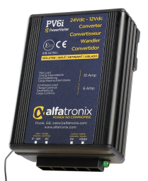 Alfatronix Spannungswandler PV6I (6/10A)